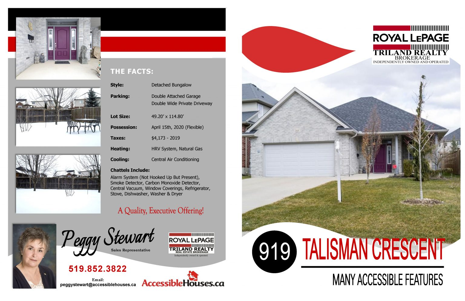 919 Talisman Cr, London, Ontario