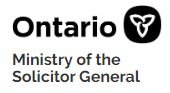 Ontario Ministry of the solicitor general logo